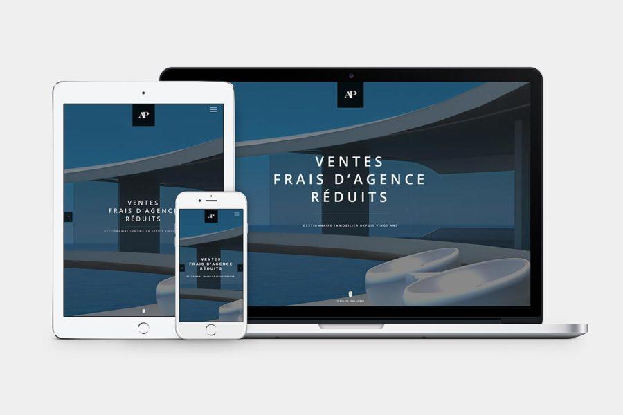 Agence de communication – Graphiste – Genève – Lausanne – Webdesign – AEDES Patrimoine Gex